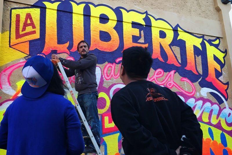 street art saint-clar